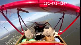 Outer Banks Biplane Air Tour with Mason and Madeline Thumbnail