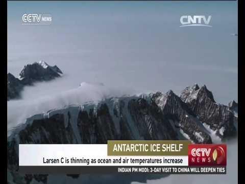 Scientists warn of Antarctic ice shelf collapse
