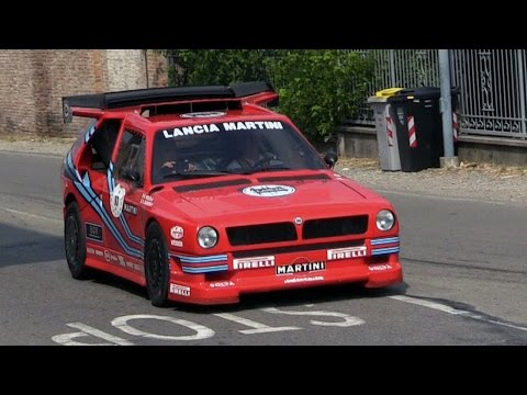 Lancia Delta ECV Group S At The 2014 Vernasca Silver Flag