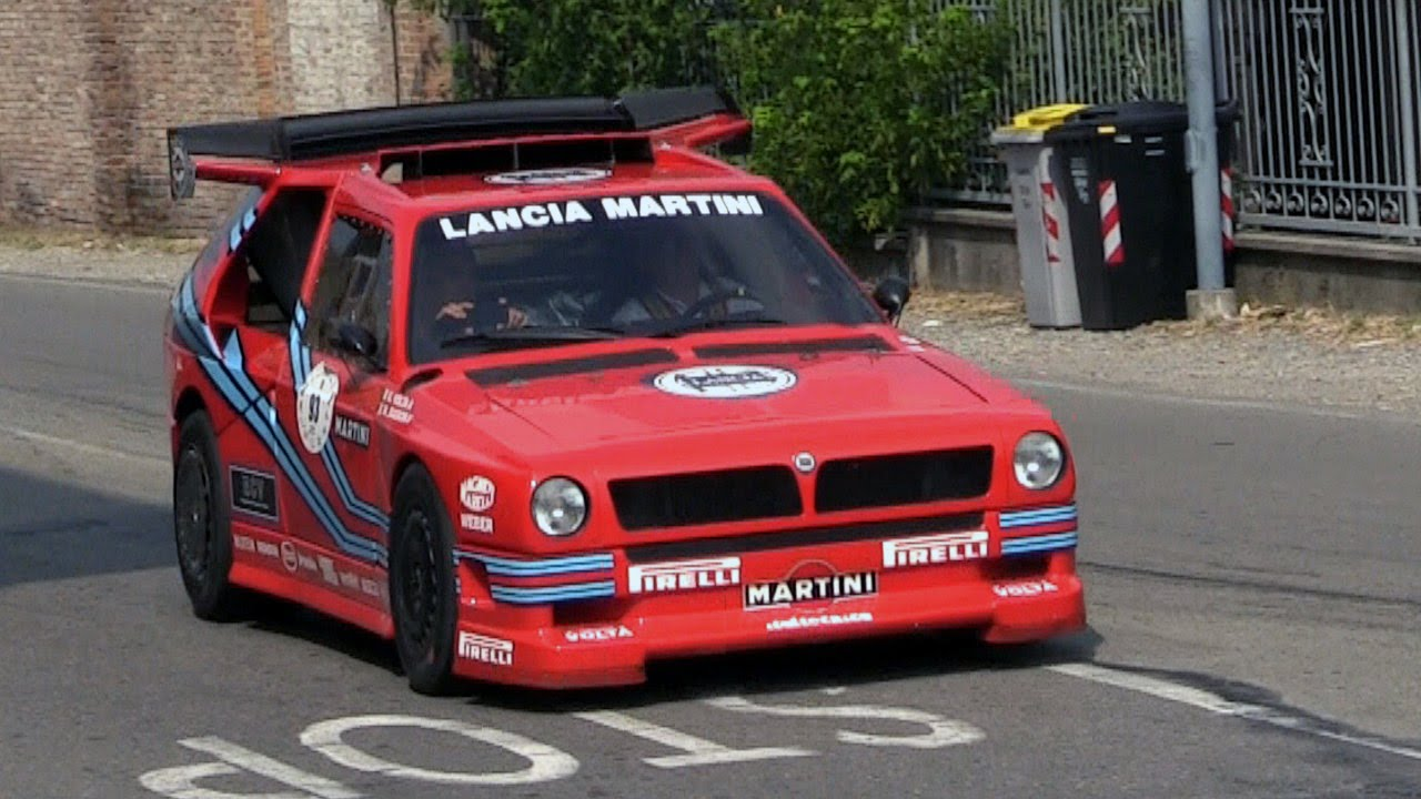Lancia Delta ECV Group S At The 2014 Vernasca Silver Flag - YouTube