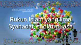 Lagu Anak Indonesia | Balonku ada lima - Rukun Islam (dengan lirik)