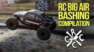 RC Big Air Jumping & Bashing Compilation: Yeti, Grave Digger & RC10