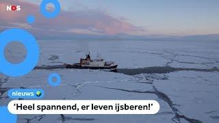 Mega-expeditie begint: wetenschappers laten zich invriezen op zee