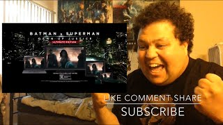 BATMAN V SUPERMAN: DAWN OF JUSTICE Official Ultimate Edition Trailer #2 REACTION!!