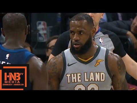 Cleveland Cavaliers vs Minnesota Timberwolves 1st Half Highlights / Feb 7 / 2017-18 NBA Season