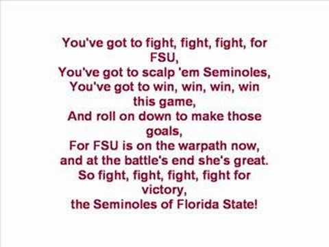 Florida State University - Fight Song