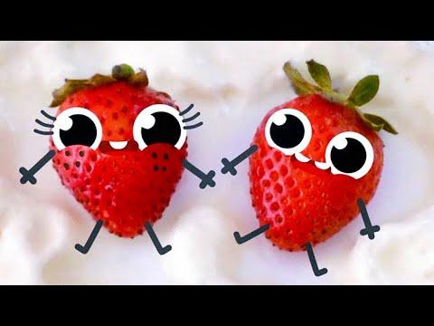 Cute Food Doodles Compilation 🍓🍓 #27