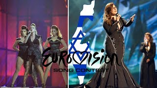 Israel in Eurovision (2000-2017) MY TOP 18