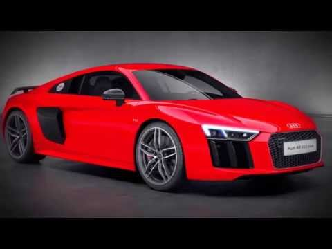 New Audi R8 V10 plus Drivetrain Animation