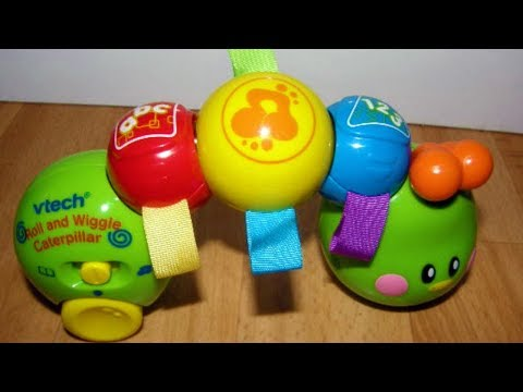 Vtech roll and wiggle caterpillar