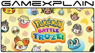 Pokémon Battle Trozei - Game & Watch (Video Preview)