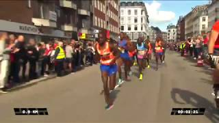 Copenhagen Half Marathon 2017 [Full Race] - Three Men Under 59 Minutes