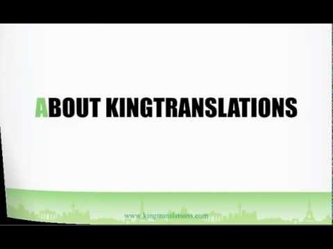 แปลเอกสาร รับแปลเอกสาร โดย King Translation