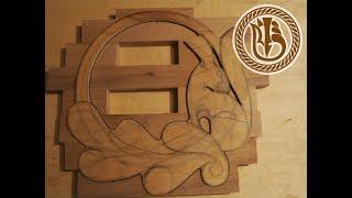 Woodcarving. Заготовка для резьбы