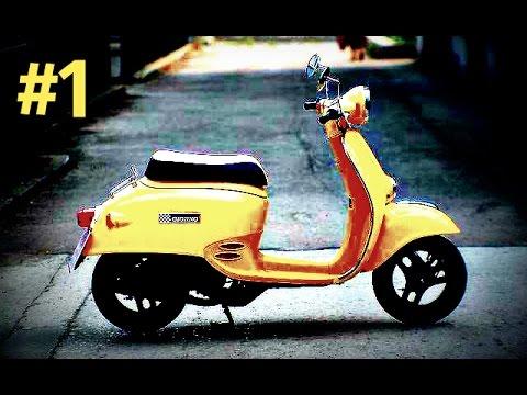 Ремонт скутера Honda Giorno. Часть 1.