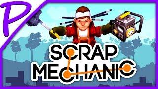 СТРОИМ СУПЕР МАШИНУ (Scrap Mechanic) #РАЗВЛЕКАЙКА