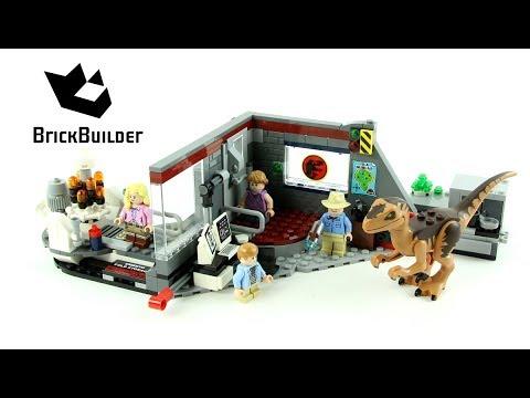 "NEW LEGO Jurassic Park /""Velociraptor Chase/"" Minifig Dino Raptor 75932"