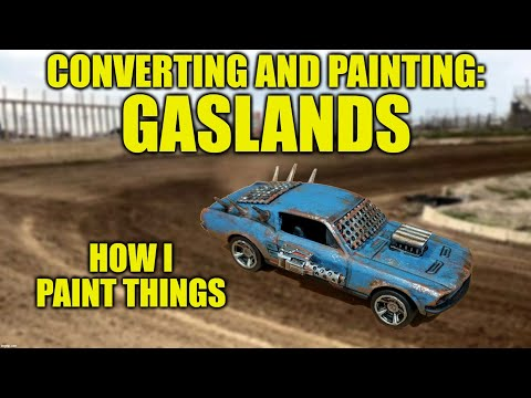 Gaslands Conversion and Painting - How I Paint Things