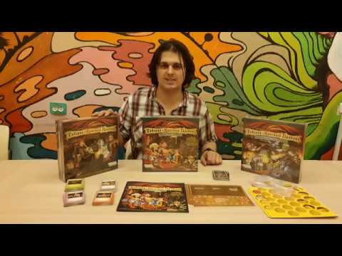 Таверна «Красный дракон»: Дварф, бард и медовуха   The Red Dragon Inn 2, Распаковка Unboxing