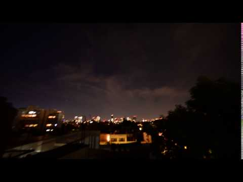 Mexico city nigth timelapse