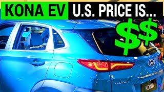US Price Announced for the Hyundai Kona Electric