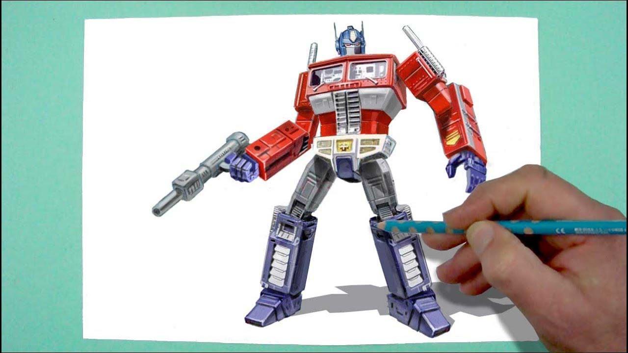 Wie Zeichnet Man Optimus Prime Zeichnen Für Kinder Und Jedem Dem Es Spaß Macht