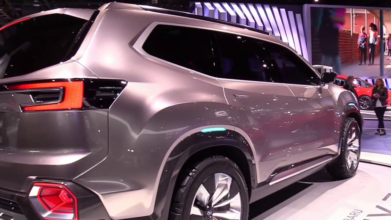 2018 Subaru Viziv 7 Suv Concept Features Exterior And Interior First Impression Look In Hd