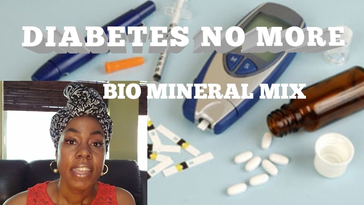 DIABETES NO MORE... ???? BIO MINERAL MIX #DR SEBI INSPIRED