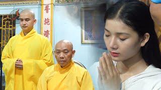 Nhóm Thiện Nguyện Tâm Từ Bi cúng dường trường hạ chùa Đức Hòa (Bình Dương)