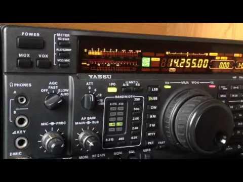 A61SM United Arab Emirates on 20m Yaesu FT-1000MP