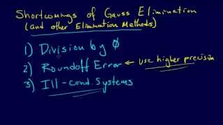 3.2.13-Linear Algebra: Gauss Elimination with Pivoting