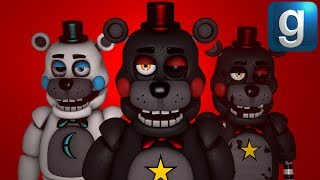 Gmod FNAF   Brand New Lefty And Rightly Model!!!