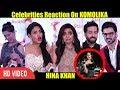 Celebrities CRAZY Reaction On Komolika | HINA KHAN | Star Parivaar Awards 2018