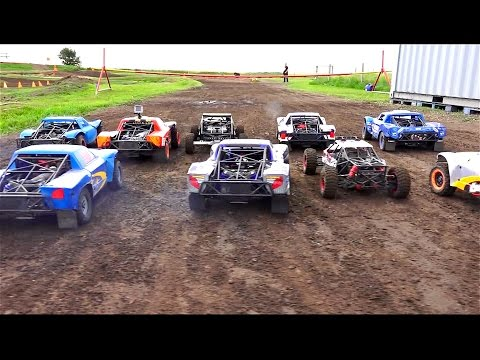BiG DiRTY 2016 - PT 3: 4WD BATTLE for POSiTiON - 1/5 Scale Offroad Racing Event | RC ADVENTURES