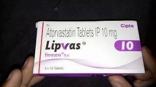 Atorvastatin Lipvas 10 - Cholesterol reducer