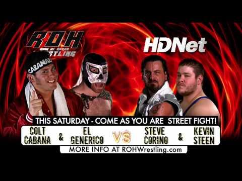 Steve Corino & Kevin Steen vs. Colt Cabana & El Ge...