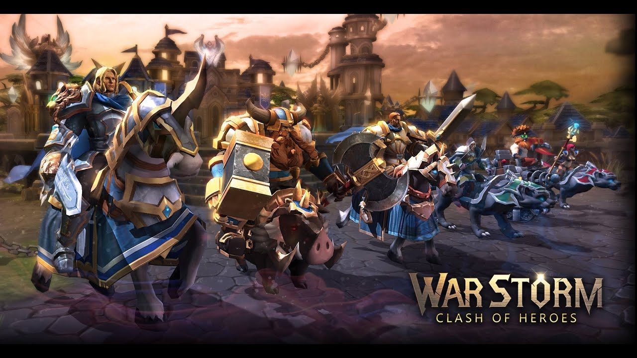 War Storm Clash of Heroes Android Gameplay (HD)