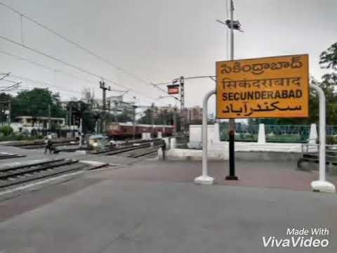 22850 Secunderabad to shalimar shalimar super fast express full journey part 1