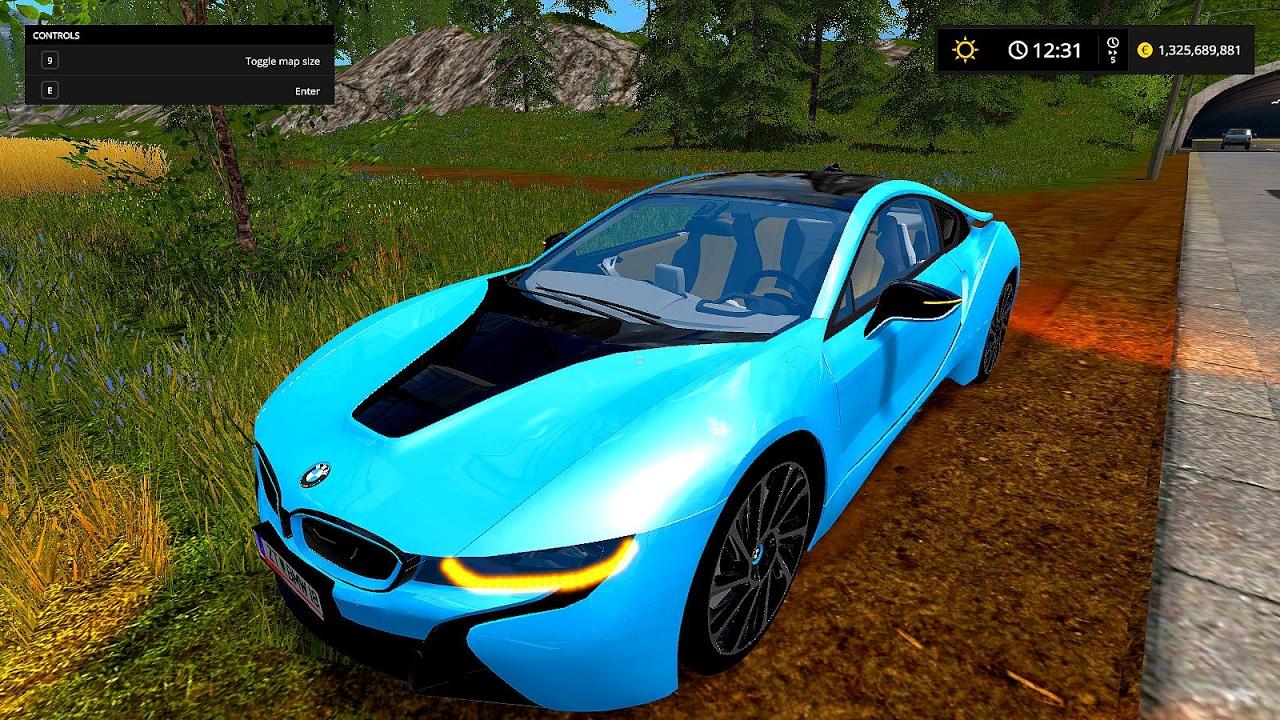 Bmw I8 Fs17 Farming Simulator 17 Fs17 Cars Youtube