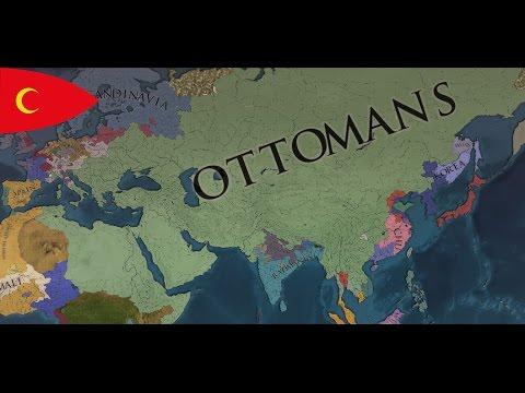 The Ottoman Empire - EU4 Timelapse