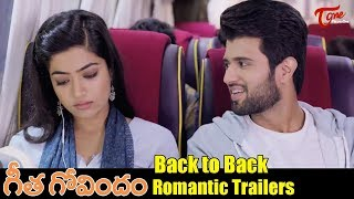 Geetha Govindam Back to Back Trailers | Vijay Deverakonda, Rashmika Mandanna | TeluguOne