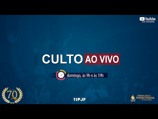 CULTO DOMINICAL - MANHÃ - 02/05/2021