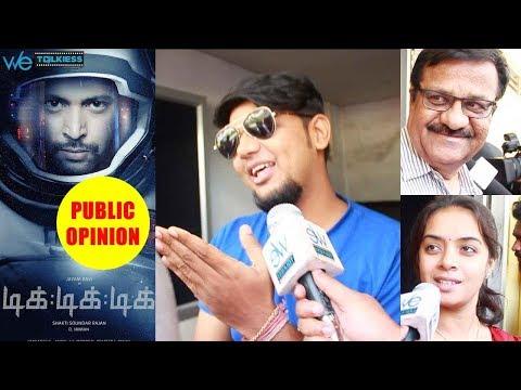 Tik Tik Tik Movie Public Review | FDFS Audience Response | Jayam Ravi |  Shakti Sounder Rajan
