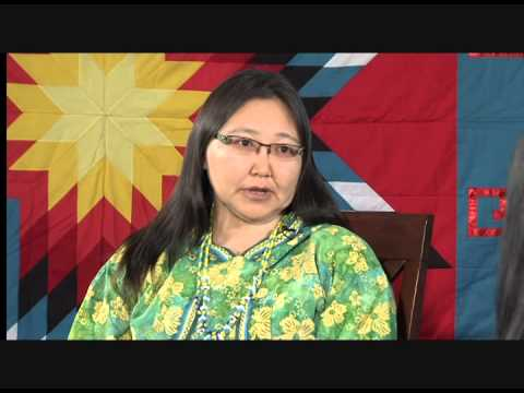 NVTV - Donna Seaton (Washoe) and Ac' aq Ester Stauffer (Alaska Native-Yup'ik)