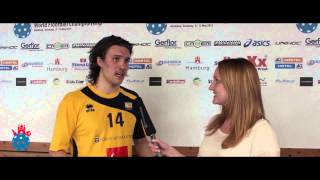 U19 WFC 2013: Interview with Adam Persson (Sweden)