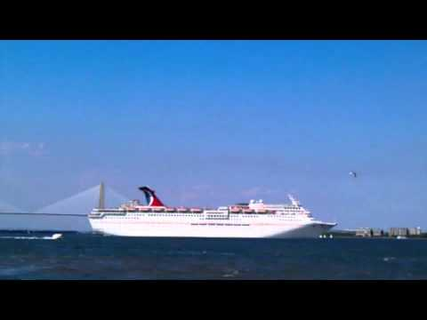 Carnival Cruise Lines Charleston SC YouTube - Cruise ships out of charleston south carolina
