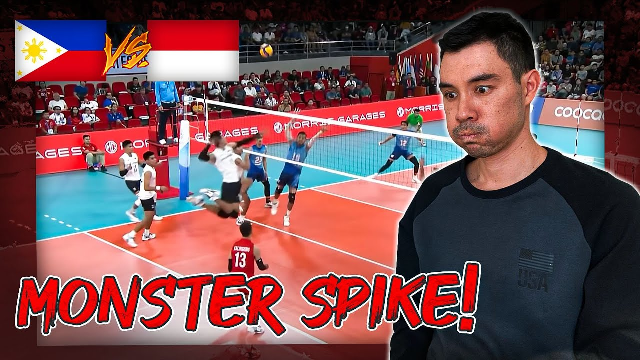 Download Team USA Libero Reacts to Indonesia vs. Philippines SEA Games Volleyball Final 2019