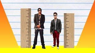 How Much Taller? - Jay Z vs Bruno Mars!