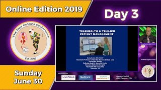 TNOC 2019 Day 3 Tele-monitoring and remotely managing patients in the ICU
