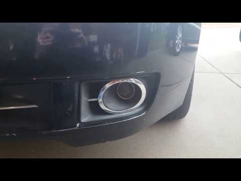 How to replace the fog light on a lincoln mkz and zephyr